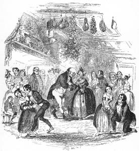 A Victorian re-creation of the joyous festivities  of Richard's Christmas court