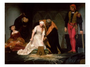 execution of Jane Grey