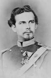 The mad king Ludwig II of Bavaria, getting ready to do a spectacular eye-roll.