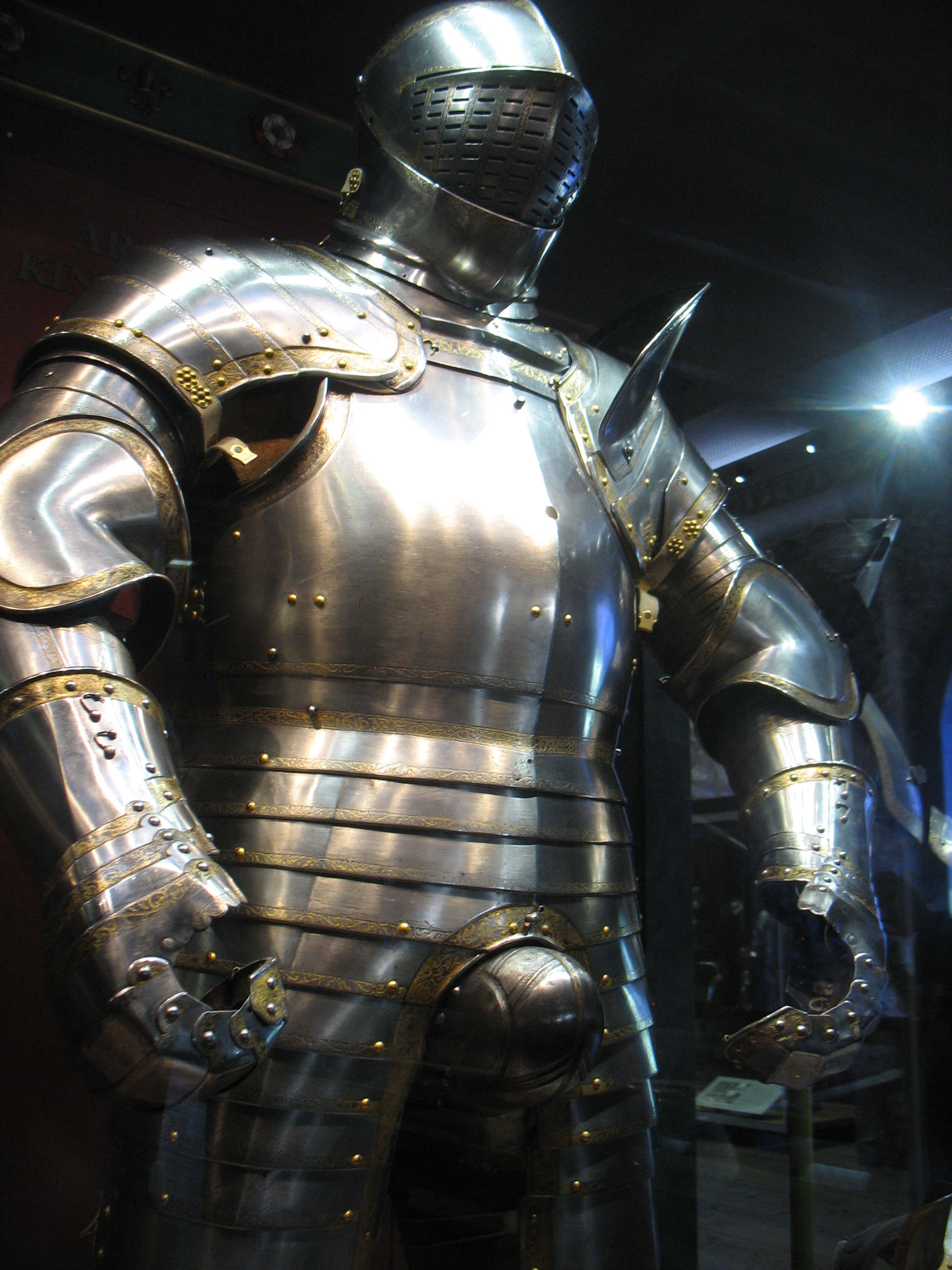 Metal codpiece